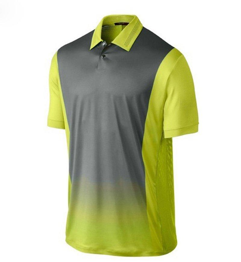 Dry fit golf polo shirt-Joyord sportswear