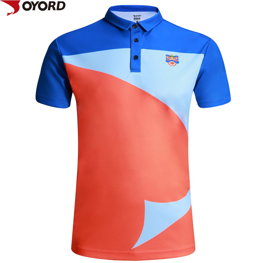 Custom new design men sublimated polo t shirt sports polo for Custom polo shirt manufacturers