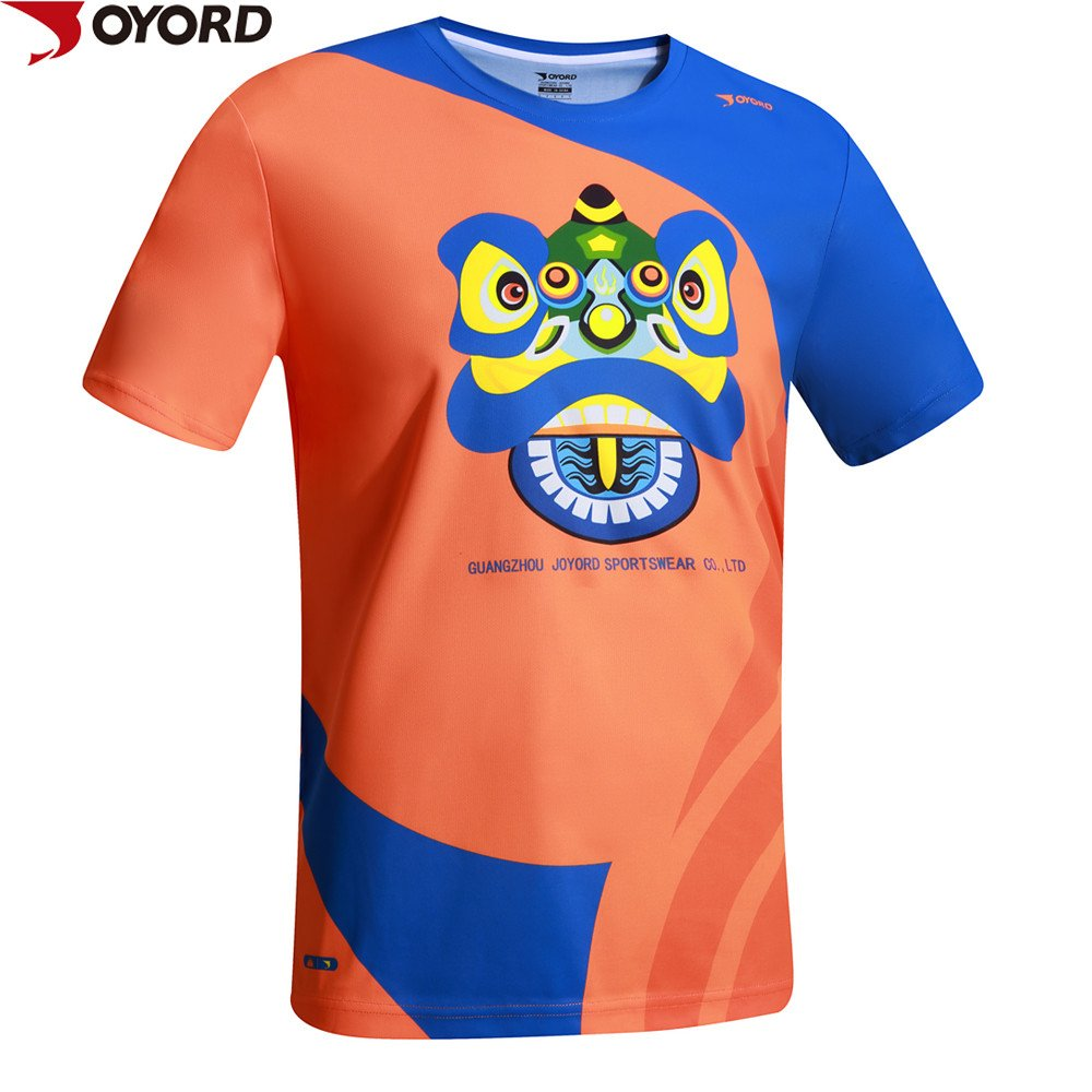 Custom Design High Quality Dye Sublimated Dry Fit T Shirt