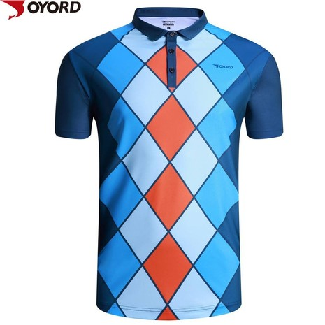 High quality dri fit 100 polyester sublimated polo shirts-6JS39340