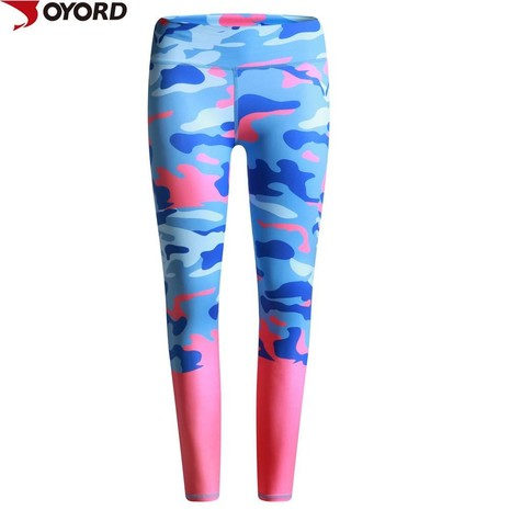 Custom lycra leggings tight pants women fitness printed yoga pants-6Jk09344