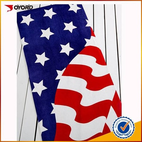 Custom high quality sublimated beach towel-02JK8524