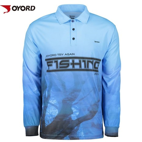 Custom quick dry uv fishing shirts quality fishing jersey